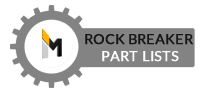 Rock Breaker Parts Lists