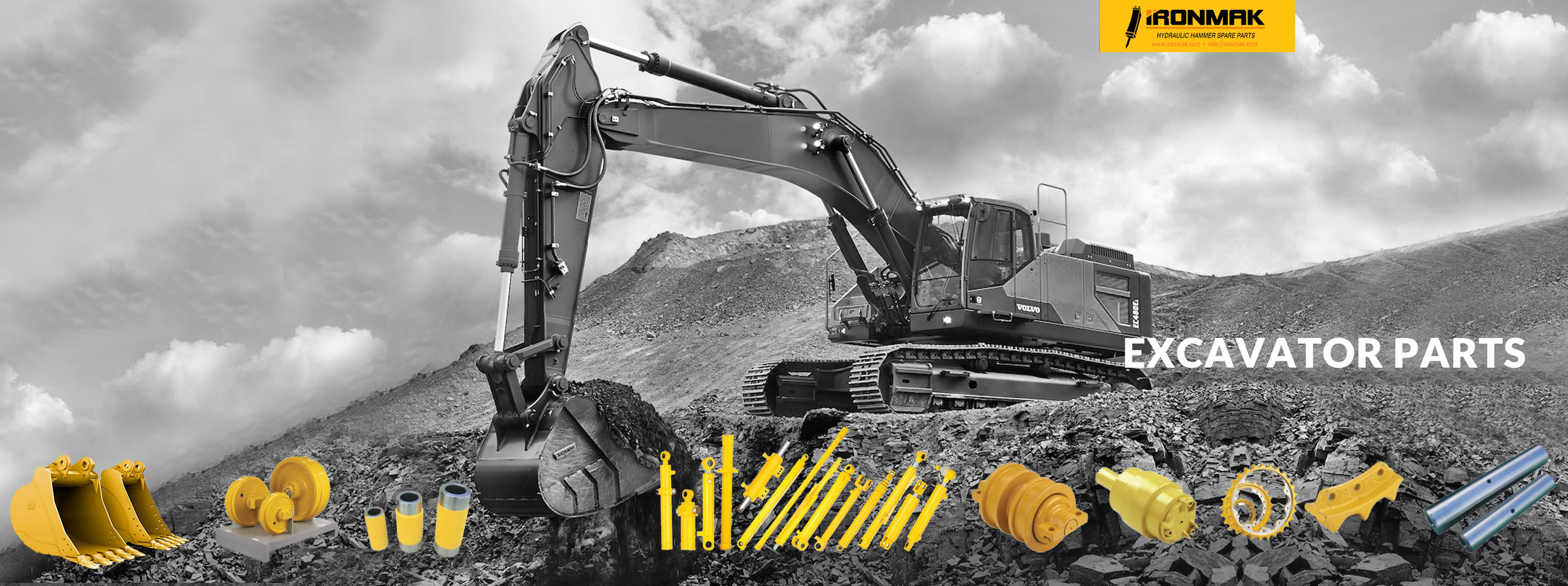 İronmak Machinery Excavator Parts