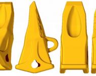 Bucket Teeth & Adapter - 4